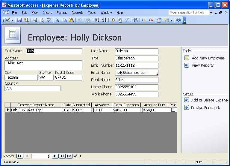 Free Online Training – MS Access 2003 | Free Training Free ...