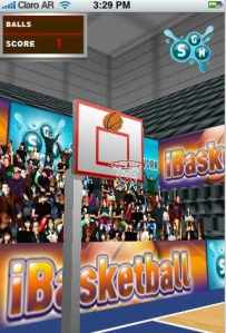 Image -- Screenshot iBasketball